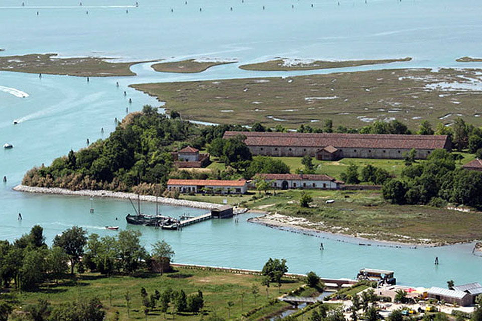 A boat trip on the Venetian lagoon - northern lagoon