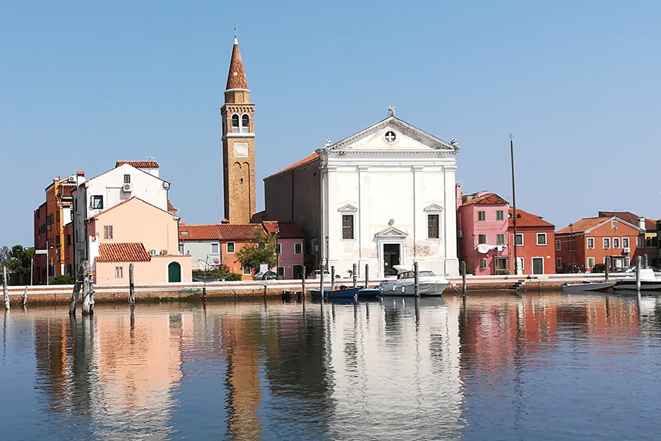 A boat trip on the Venetian lagoon - southern lagoon